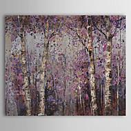 baratos -Pintura a Óleo Pintados à mão - Floral / Botânico Pastoril Tela de pintura