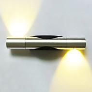 tanie Kinkiety Ścienne-AC 110-130 AC 220-240 2 LED Zintegrowane Modern / Contemporary Galwanizowany Cecha for LED Styl MIni Zawiera żarówkę,Światło rozproszone