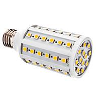 billige Kornpærer med LED-YWXLIGHT® 800lm E26 / E27 LED-kornpærer T 60 LED perler SMD 5050 Varm hvit Hvit 12V