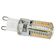 billige Kornpærer med LED-210 lm G9 LED-kornpærer 64 leds SMD 3014 Varm hvit AC 220-240V