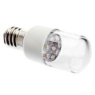 billige Stearinlyslamper med LED-0.5W 50-150 lm E14 LED-lysestakepærer 7 leds Dyp Led Dekorativ Varm hvit AC 220-240V