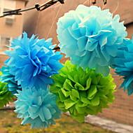 Χαμηλού Κόστους Λουλούδια από Χαρτοπετσέτες-Γάμου / Πάρτι / Γαμήλιο Πάρτι Μεικτό Υλικό Διακόσμηση Γάμου Άνθινο Θέμα / Κλασσικό Θέμα Χειμώνας Άνοιξη Καλοκαίρι Φθινόπωρο Όλες οι εποχές