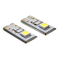 LED-spotpærer 2 leds SMD 5050 Kjølig hvit 20-80lm 6000K AC 12V