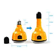 リモコン付きE27 4W LED白色電球充電式緊急ライト懐中電灯のスポットライト(CIS-57183)