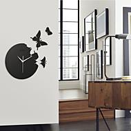 "14.3 ""fluture acrylic mute moda de perete ceasuri ceas de perete bakeware"