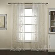 billige Gjennomsiktige gardiner-twopages® to paneler elegent paljett embrodiery ren gardiner gardiner