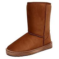 baratos Sapatos Femininos-Botas de inverno Camurça Esqui Anti-Escorregar Inverno
