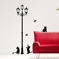 halpa -Animal Kissat alle Street Light Wall Tarrat