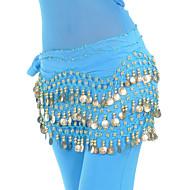 ベリーダンス ベルト 女性用 訓練 シフォン ビーズ スパンコール ヒップスカーフとベルトは含まれていません.