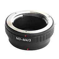 Emolux Minolta MD MC-objektiv til Micro 4/3 Adapter E-P1 E-P2 E-P3 G1 GF1 GH1 G2 GF2 GH2 G3 GF3