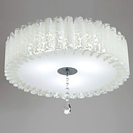 billige Taklamper-Takplafond Omgivelseslys Malte Finishes Akryl Mini Stil 110-120V / 220-240V Varm Hvit / Hvit LED lyskilde inkludert / Integrert LED