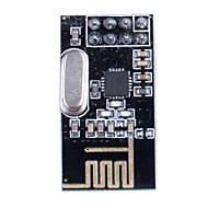 2.4GHz antena sem fio NRF24L01 + Transceiver Module - Preto
