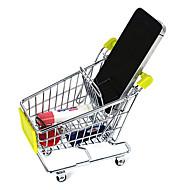 billige Lagring og oppbevaring-kreative assorterte farges Mini Handlevogn oppbevaringshylle