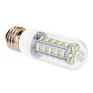 billige Kornpærer med LED-YWXLIGHT® 1pc 7 W 760 lm E26 / E27 LED-kornpærer T 36 LED perler SMD 5630 Kjølig hvit 220-240 V
