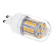 baratos Luzes LED de Dois Pinos-3.5W 200-250 lm G9 Lâmpadas Espiga T 31 leds SMD 5050 Branco Quente AC 220-240V