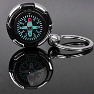 Personalizate gravate cadou Compass formă Lover keychain