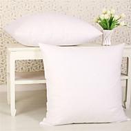 """Sett med to Polyester Gratis Fyll Pillow Sett (18 """"Square)"""