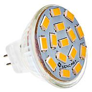 5W G4 LED Spot Işıkları MR11 15 led SMD 5730 Sıcak Beyaz Serin Beyaz 450-500lm 2800-3000K AC 24V