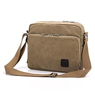 cheap Buy 2 Get 20% Off-Men's Bags Canvas Crossbody Bag for Casual Gray / Brown / Cream