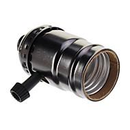 billige -sort belagt skruelampeholder (250w, 250v) højkvalitets belysningsudstyr