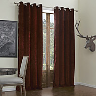 billige Luxury-gardiner gardiner Stue Ensfarget Polyester