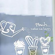 tanie סרטים ומדבקות לחלון-Drzewa/Listki Kraj Naklejka okienna, PVC/Vinyl Materiał Dekoracja okna Sypialnia Pokój dla dzieci Salon Shop / Cafe