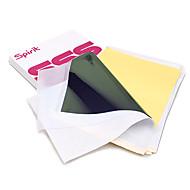 100pcs קעקוע תרמית סטנסיל נייר להעביר נייר קעקוע נייר a4 גודל נייר תרמי ציוד קעקוע