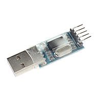 Pl2303 usb to rs232 ttl adapter adapter module with dust-proof cover