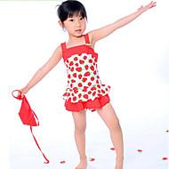 Pigens Strawberry Printing Badetøj
