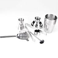 billiga Bartillbehör-5stk rostfritt stål cocktails shaker starter kit set