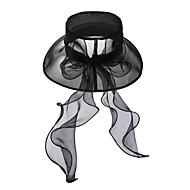 billiga Festtillbehör-Tyll Kristall Tyg Organza Tiaras hattar 1 Bröllop Speciellt Tillfälle Fest / afton Casual Utomhus Hårbonad