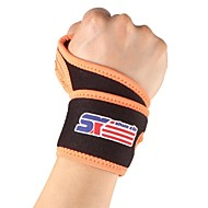billige Sportsstøtter-Monolithic Sport Gym Elastic Stretchy Wrist Guard Protector - Free Size
