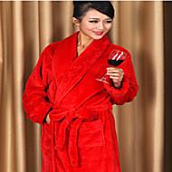 billige Badekåper-Frisk stil Badekåpe, Ensfarget Overlegen kvalitet 100% Polyester Strikket Vanlig Håndkle