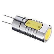baratos Luzes LED de Dois Pinos-G4 Lâmpadas de Foco de LED 3 leds COB Branco Quente Branco Frio 340lm 6500K DC 12V
