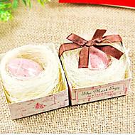 Düğün Hediye Mini Şeffaf Kuş Yumurta Sabunu 29g