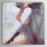 ieftine Artist - L.Gill-Pictat manual Oameni Un Panou Canava Hang-pictate pictură în ulei For Pagina de decorare