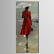 Hand-Painted People One Panel Canvas Home Decoration