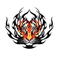 Padrão Fire Tiger Car Adesivos Decorativos