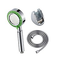 Three Functions Pressurize Circle ABS Handle Shower Head
