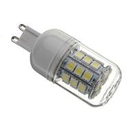 billige Kornpærer med LED-5500lm G9 LED-kornpærer T 30 LED perler SMD 5050 Naturlig hvit 220-240V / 110-130V