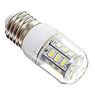 billige Kornpærer med LED-3W 270 lm E14 E26/E27 LED-kornpærer 24 leds SMD 5730 Varm hvit Kjølig hvit AC 220-240V