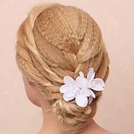 tecido algodão flores cabeça casamento festa elegante estilo feminino