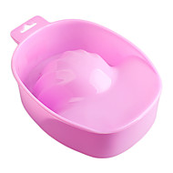 1Stk. Ny Stil Pink Neglekunst Hånd Fjern Vask Dyppe Skål Manicure Værktøj