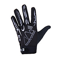 KORAMAN Sports Gloves Bike Gloves / Cycling Gloves Breathable Anti-skidding Full-finger Gloves Spandex Cycling / Bike Men's Women's Unisex