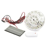 22-LEDリモコンソーラーフラッドランプ点灯システム