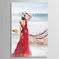 Maalattu Ihmiset 1 paneeli Kanvas Hang-Painted öljymaalaus For Kodinsisustus