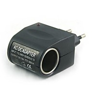 100v-240v ac a 12v dc power lighter (eu plug) carregador de carro