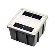 太陽光発電の2 - 白色LED屋外ガーデン経路凹んレンガライト