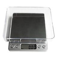 baratos Ferramentas de Medição-alimento eletrônico do peso do equilíbrio 1000g 0.1g da escala da cozinha do lcd digital
