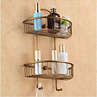 cheap Antique Bronze Series-Bathroom Shelf Antique Brass Antique Bronze